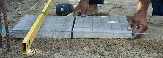 terras aanleggen Beringen